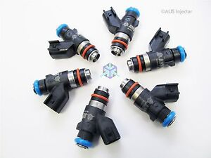 275 Cc 26 Lbs Aus High Flow Racing Fuel Injectors Fit Ford Mustang V6 ausd6 0