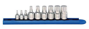 Gearwrench 9pc Stubby Triple Square Bit Driver Socket Set W Rail 81100
