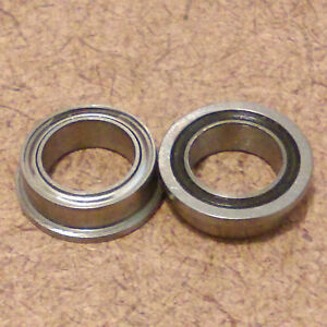 1 4 Inch Bore One Radial Ball Bearing Flanged Lowest Friction Bearing