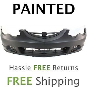 Fits 2002 2003 2004 Acura Rsx Front Bumper Cover Painted To Match