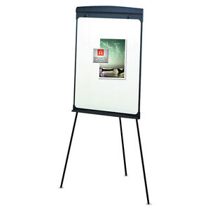 Magnetic Dry Erase Easel 27 X 35 White Surface Graphite Frame