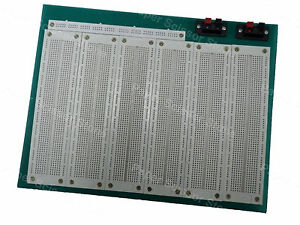 4660 Points Large Pcb Solderless Breadboard Green Base Project Board
