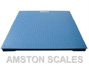 5000 X1 Lb 4 X 4 Foot 48 Inch Ntep Digital Floor Scale Pallet Warehouse Platform