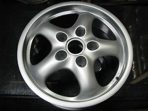 17 Oem Factory Porsche 911 Wheel Rim 67262 Refinished 99336212602 Winter