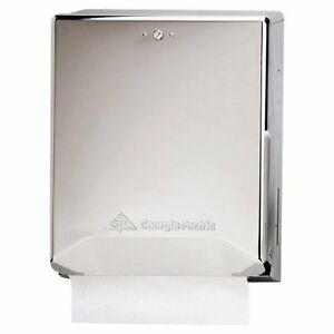 Georgia pacific 56620 Chrome Combination C fold Multifold Paper Towel Dispenser