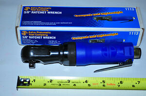 3 8 Drive Palm Air Ratchet Wrench Astro Pneumatic 1113 50 Ft Lbs