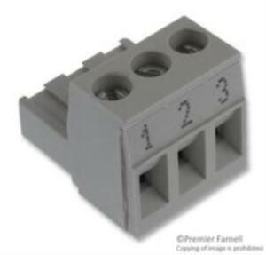 4x Wieland Electric 25 340 0353 0 Terminal Block Pluggable 3pos 22 12awg