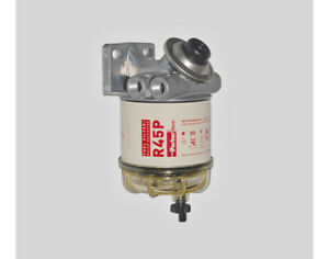 Racor Fuel Filter Water Separator 445r Spin On Series
