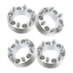4 2 6 Lug Wheel Spacers Adapters Fits Chevy Silverado 1500 Tahoe Suburban
