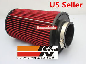 K N Universal Car Truck Racing 3 Inch Kn Cold Air Intake Filter Kit