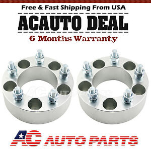 2x2 5x4 75 12x1 5 Wheel Spacers Adapters For Chevy Camaro Corvette S10