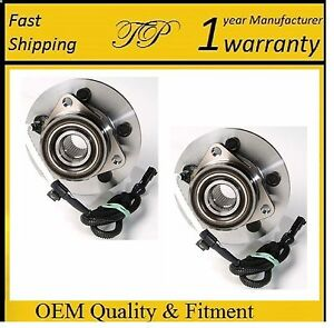 Front Wheel Hub Bearing Assembly For Ford Explorer 4x4 1995 2001 pair
