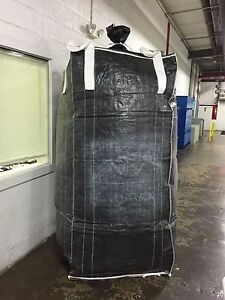 Lot Of 150 Fibc bulk Bag super Sack 2500 Pound Capacity