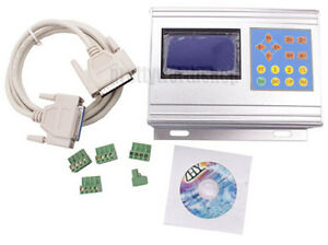 3 Axis Tb6560 Cnc Stepper Motor Drive Box With Control Keypad lcd Display 3 5a