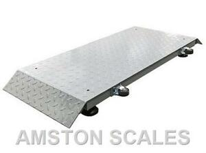 2000 X 0 5 Lb 20x50 Inch Livestock Animal Scale Portable Veterinarian Cattle Dog