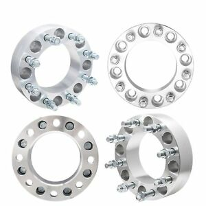 4x 2 Wheel Spacers 8x170 14x1 5 Studs For Ford F250 F350 Super Duty Excursion