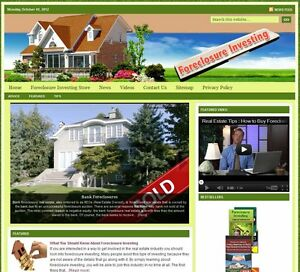 foreclosure Investing Turnkey Website For Sale turnkeypages