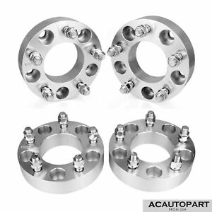 4 Wheel Spacers Adapters 5x135 To 5x135 1 5 14x2 0 Studs Fits Ford F150