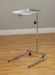 New Stainless Tray Mayo Instrument Stand 221