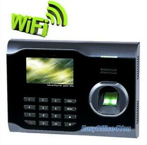 3 Inch Tft Screen Biometric Fingerprint Time Attendance System wifi usb ethernet