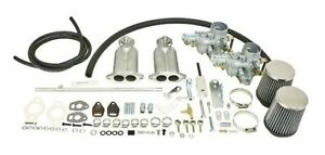 Vw Type 1 Deluxe Dual Port Tall Empi 34epc ict 1300 1600 Manifold Kit 47 7421