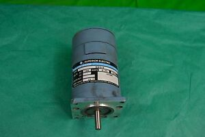 New Superior Electric Slo syn Synchronous Stepping Motor Ss91t 1ph 120v 72rpm