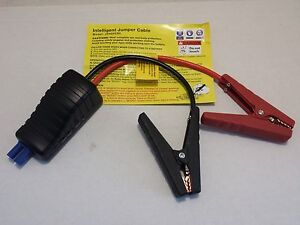 Upgraded Smart Cables For Rockford Quipall Jackco Pocket Jump Starter Js400cbl