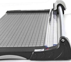Kw trio Heavy Duty Metal Base Rotary Paper Cutter Photo Trimmer 26 3020 New