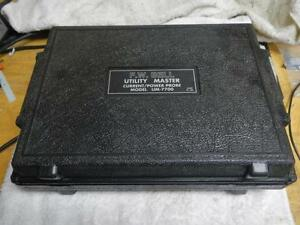 F w Bell Utility Master Current power Probe Model Um 7700
