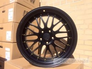 Brand New Set Of 4 Wheels 19 Lm Style Matte Black Fits Bmw 3 4 5 Series Z3 Z4