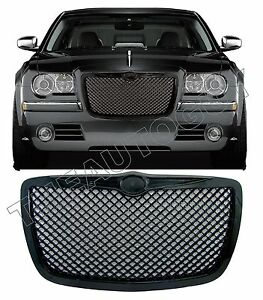 2005 2006 2007 2008 2009 2010 Chrysler 300 C Abs Black Mesh Replacement Grill