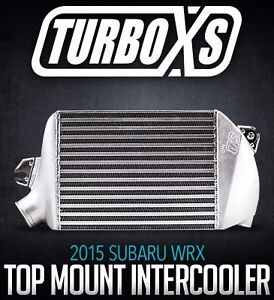 Turboxs Performance Top Mount Intercooler Fits 15 20 Wrx