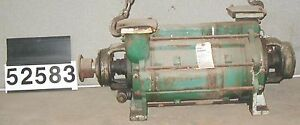 Kinney 3 Liquid Ring Vacuum Pump Model Hc 200 Ductile Iron