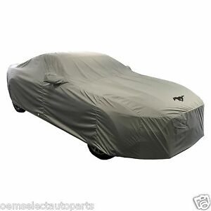 Oem New 2015 2018 Ford Mustang Convertible Logo Car Cover Covercraft