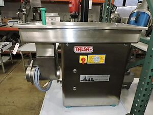 Talsa W32k ent Commercial Stainless Steel Meat Grinder 32 Head Size