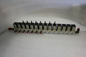 Lot Of 14 Humphrey Mini myte M3e1 39 Mtl 81 120v Solenoid Valves Manifold C 44