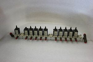 Lot Of 11 Humphrey Mini myte M3e1 39 81 Mtl 12v Dc Solenoid Valves C 46