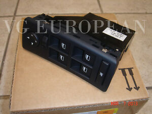Bmw E53 X5 Genuine Left Front Window Switch Assembly With Mirror Adjustment New