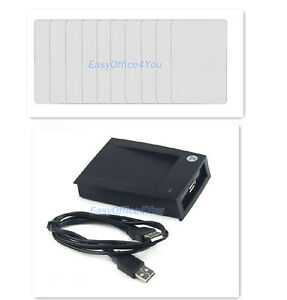 100pcs Rfid 125khz Writable Rewrite Proximity Cards Access Card Usb Writer