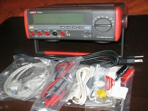 Digital True Rms Bench Multimeter Usb Rs232 K Type Thermocouple 100khz Ut803