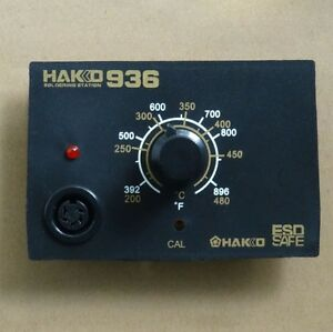 Hakko 936 Iron Soldering Station Controller 24v For 907 Iron A1321 Heating Core
