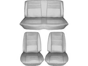 1967 Chevelle Standard Seat Upholstery Full Set Convertible White