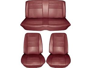 1967 Chevelle Standard Seat Upholstery Full Set Convertible Red