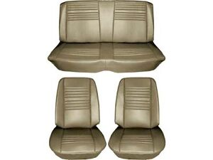 1967 Chevelle Standard Seat Upholstery Full Set Gold Coupe