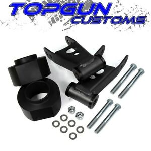 1984 2001 Jeep Cherokee Xj 2 Front 2 Rear Leveling Lift Kit W Shackles Pair