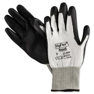 Ansellpro Hyflex Dyneema Cut protection Gloves Gray Size 9 Ans 11624 9