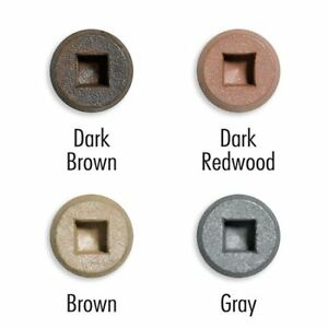 Fastenmaster 3 Trapease I Composite Deck Screw Brown 1750 Bucket
