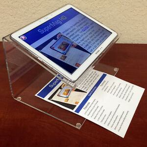 Supermag Hd Digital Touch Ocr 12 2 Inch Color Portable Video Magnifier New