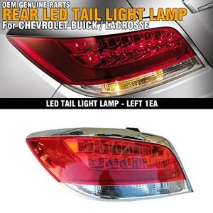 Oem Genuine Parts Rear Led Tail Light Lamp Left 1p For 2010 2013 Buick Lacrosse