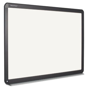 Interactive Magnetic Dry Erase Board 51 2 X 39 68 X 4 2 White black Frame